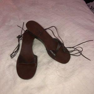J. Crew Ankle Strap Sandals